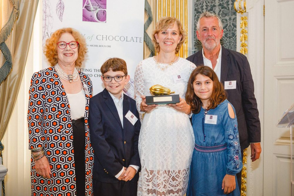 Global confectionery talent celebrated at the Academy of Chocolate Awards