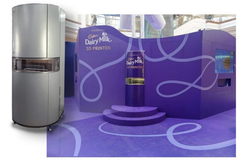 Cadbury celebrates World Chocolate Day with 3D printed personalised products