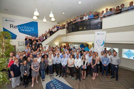 Domino Printing Sciences celebrates 40th anniversary