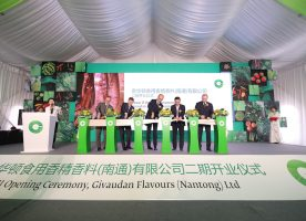 Givaudan expands Chinese flavouring facilities