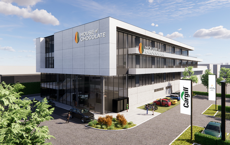 Cargill set to expand its Mouscron innovation facilities with new House of Chocolate