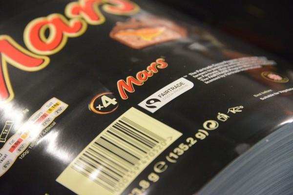 Mars Fairtrade packaging reel