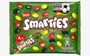 Football world cup confectionery gets its game on