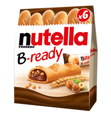 Ferrero enters UK biscuit category with Nutella B-Ready
