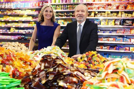 Sweets in the City moves up a gear with Lord Alan Sugar