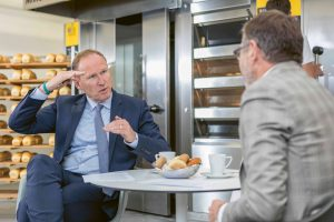 Bühler group reorganisation with consumer foods business segment