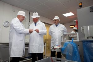 Prince Charles visits The Toffee Works as part of centenary celebrations
