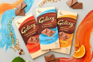 Mars Wrigley unveils its first ever vegan Galaxy bar series