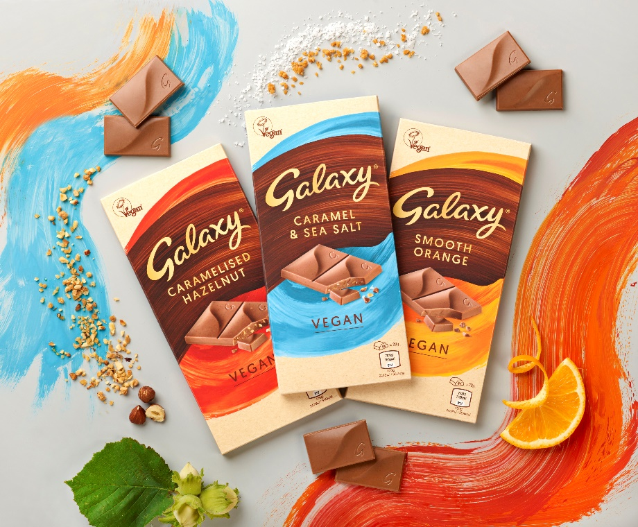 Mars Wrigley unveils its first ever vegan Galaxy bar series | Confectionery Production - Confectionery Production