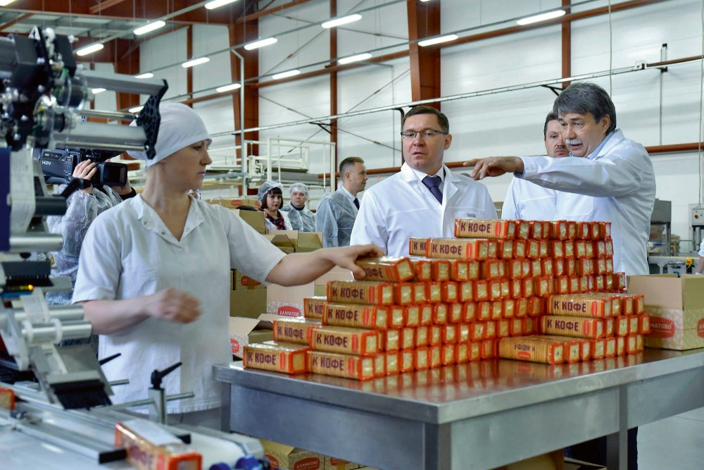 Russian confectionery market prepares to increase export volumes