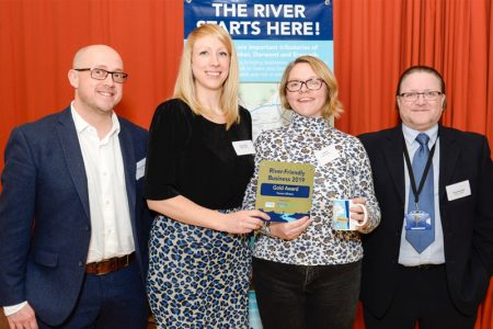 Ferrero wins environmental Gold for river protection