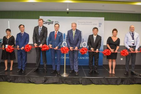 Latest Singapore innovation centre for Cargill cements regional presence