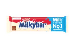 Putting the milk in Milkybar
