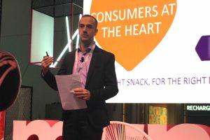 Quarterly growth achieved by Mondelēz International's snacks business