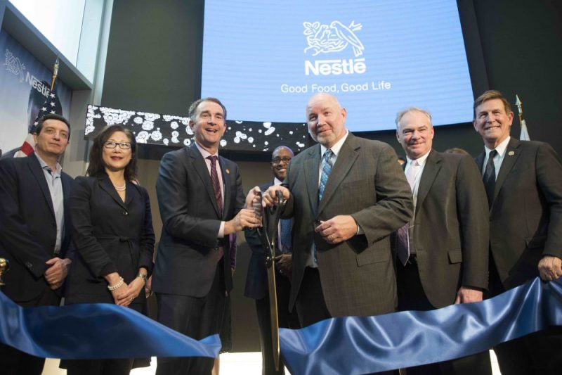 Nestlé celebrates opening its new US headquarters