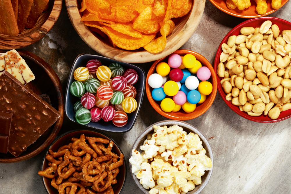 Continued rise of the global snacking market