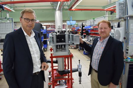 Gerhard Schubert drives forward with €30 million expansion plans