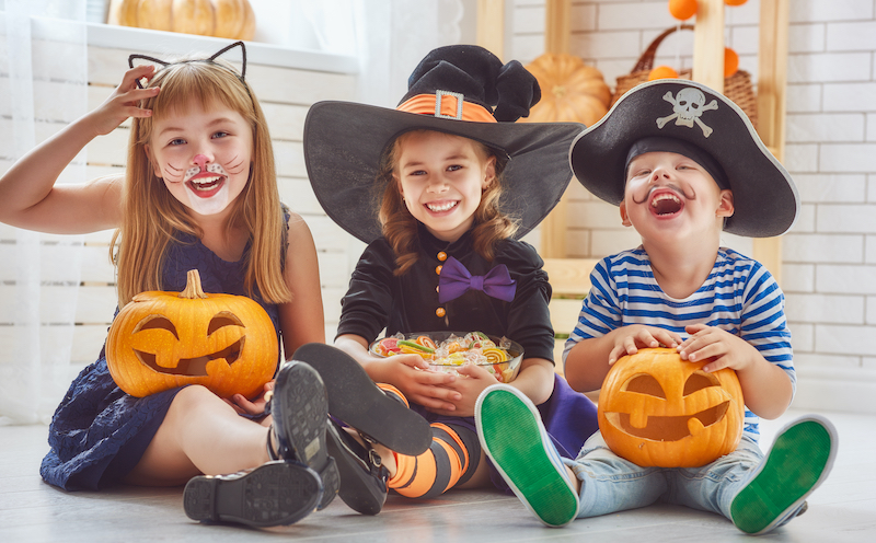 Health officials recommend against usual trick-or-treating