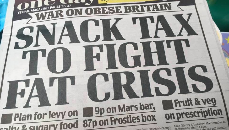 Can proposals for a world first snacks tax in the UK tackle the obesity crisis?
